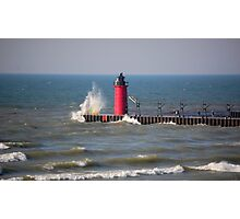South Haven Above Photographic Print