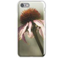 Fleur échinacée iPhone Case/Skin