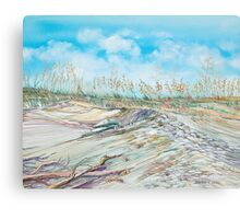 On the Dune Canvas Print