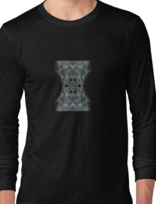 The Hitchcock Fractal Long Sleeve T-Shirt