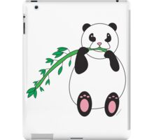 Panda Eating Bamboo iPad Case/Skin