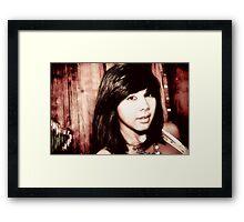 """ China Doll "" Framed Print"