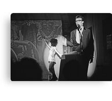 Robbie and Sarah Miller perform at Sedition 1983 Canvas Print