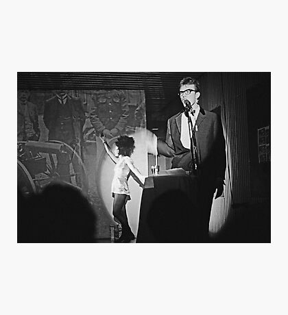 Robbie and Sarah Miller perform at Sedition 1983 Photographic Print