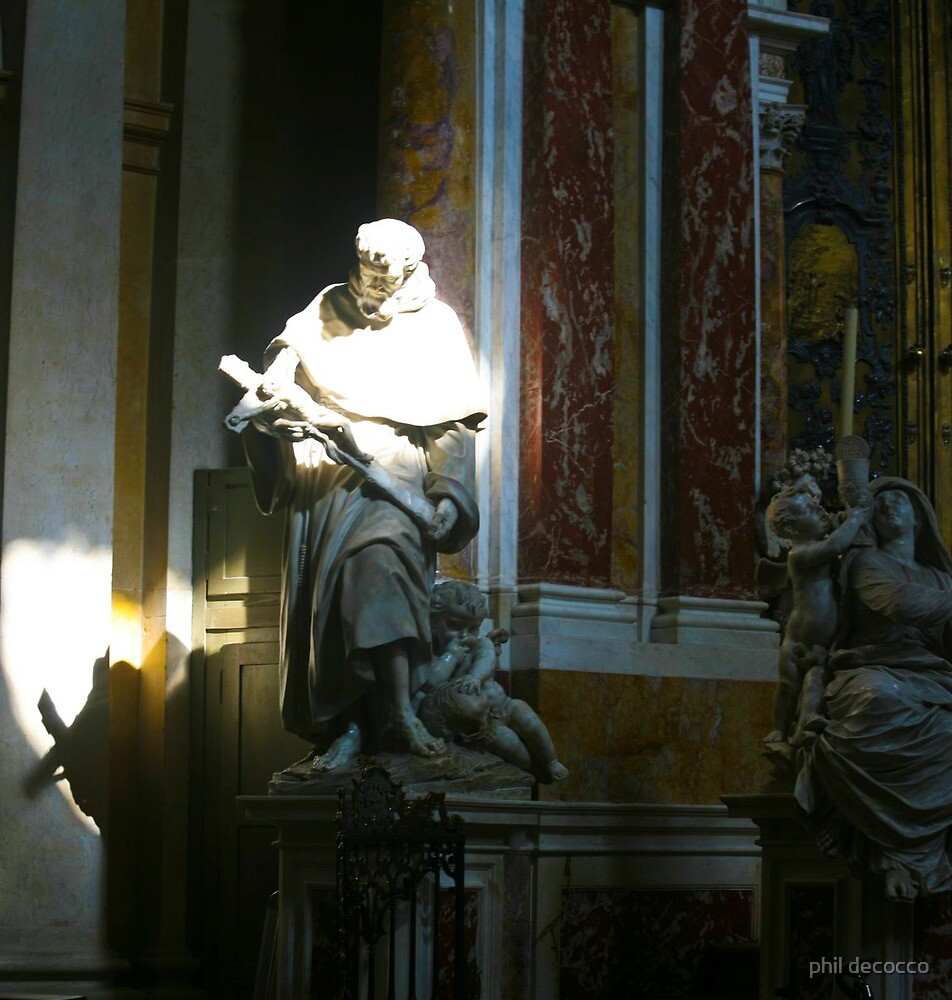 Saint Anthony of Padua by phil decocco