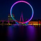 London Eye by DJBPhoto