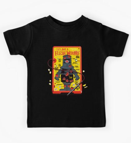"""The """"It's Just A Flesh Wound"""" Game Kids Tee"""