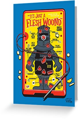 """The """"It's Just A Flesh Wound"""" Game by Captain RibMan"""