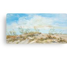 Dune Oats Canvas Print
