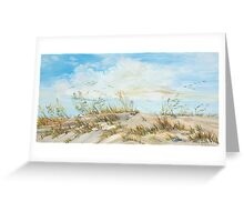 Dune Oats Greeting Card