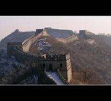 Great Wall by qishiwen