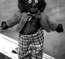 SAD DISGARDED GOLLIWOG by Helen Akerstrom Photography