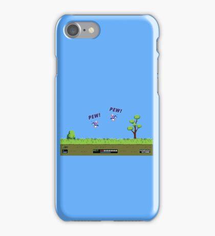 Duck Hunt! Pew! Pew! iPhone Case/Skin