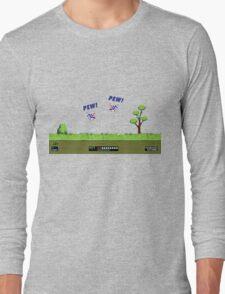 Duck Hunt! Pew! Pew! Long Sleeve T-Shirt