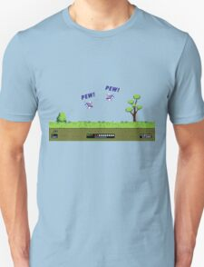 Duck Hunt! Pew! Pew! Unisex T-Shirt