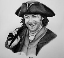 Aidan Turner as Ross Poldark - Portrait by SD 2010 Photography & Equine Art Creations