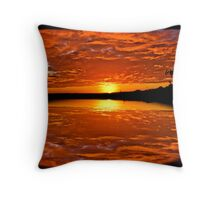 reflections of beuty Throw Pillow