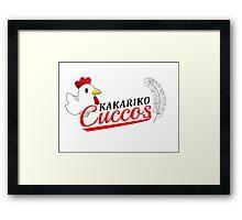 Kakariko Cuccos Framed Print