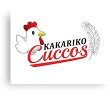 Kakariko Cuccos Canvas Print