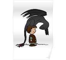 He's Your Dragon, Hiccup Poster