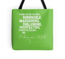 I Love You, Kate. Tote Bag