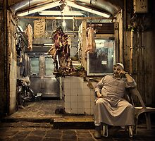 The Butcher #0201 by Michiel de Lange