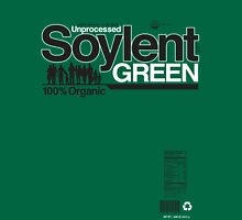 Contents: Unprocessed Soylent Green (on Green) T-Shirt