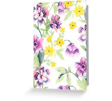 Garden Floral Greeting Card
