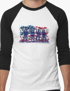 Vietnam Veteran Men's Baseball ¾ T-Shirt