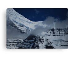 July Snow - Mt. Robson Canvas Print