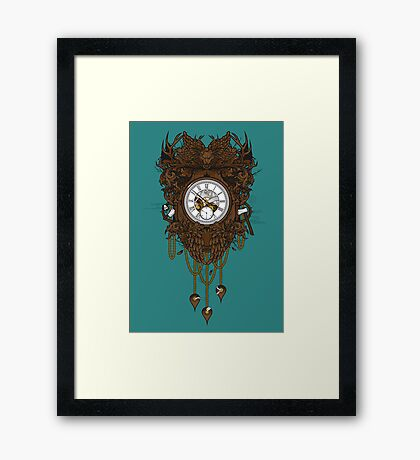 Your Time Machine... Framed Print