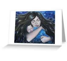 """Family """"a haven of rest, a sanctuary of peace and most of all a harbour of love."""" Greeting Card"""