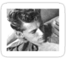 HOLLYWOOD IDOL LOST BEFORE HIS TIME-JIMMY DEAN Sticker
