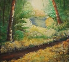 'And the path goes ever on...' by Susie Hawkins