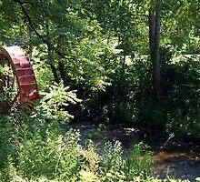 Wayah Water Wheel by JRobinWhitley