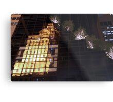 Reflecting on 5th Avenue Metal Print