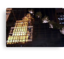 Reflecting on 5th Avenue Canvas Print