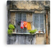 The washing line, Brazil Canvas Print