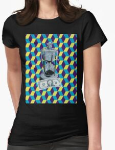 Time vs. Money Womens Fitted T-Shirt