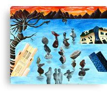 Study in Surrealism Canvas Print
