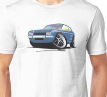Ford Capri (Mk1) Blue Unisex T-Shirt