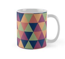 Retro geometric pattern in contrast gamma Mug