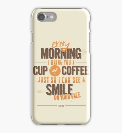 Every morning iPhone Case/Skin