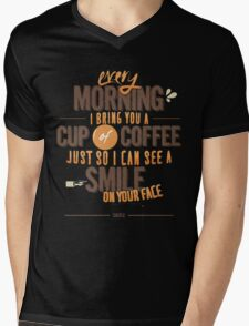 Every morning Mens V-Neck T-Shirt