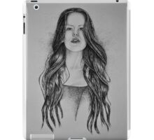 Katie - B and W iPad Case/Skin