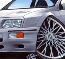 Ford Sierra Cosworth Grey Sticker