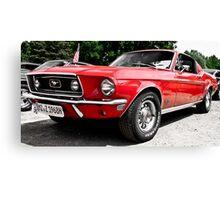 Ford Mustang Dreams Canvas Print