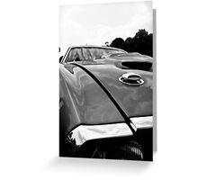 Ford Mustang Dreams Greeting Card