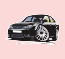 Ford Mondeo ST 220 Black Kids Tee