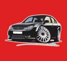 Ford Mondeo ST 220 Black Baby Tee